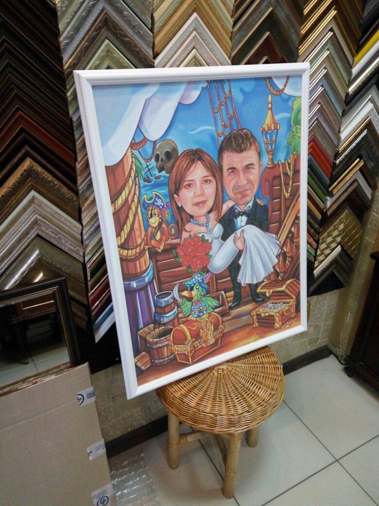 портрет шарж на заказ в красноярске
