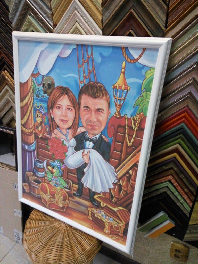 шарж по фото на заказ в красноярске