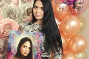 Спасибо за замечательный портрет-сюрприз на мой день рождения!