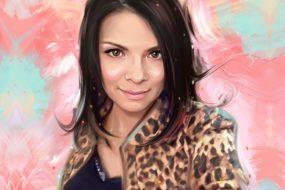 Портрет по фото, подарок на 14 февраля. Заказать в Красноярске