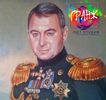 Заказать портрет маслом в Красноярске