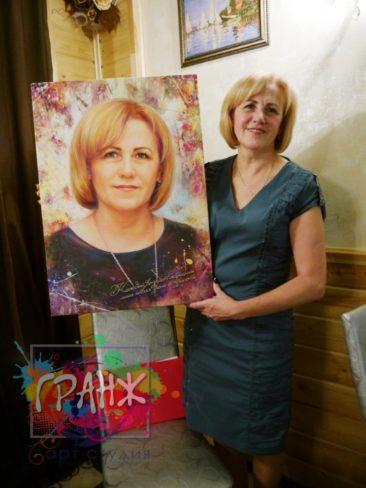 Портрет на заказ Красноярск
